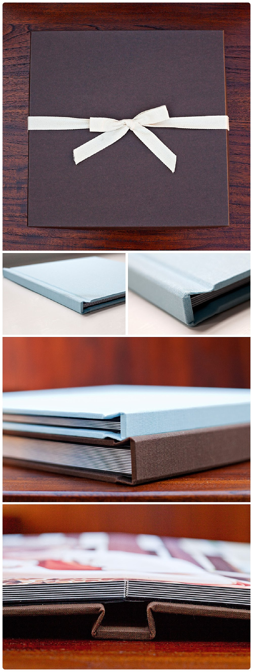 Coffee Table albums make a great gift for grandparents, too!