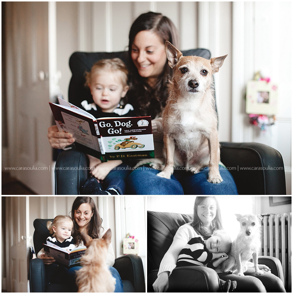Puppy Love | Family Photos with Dog