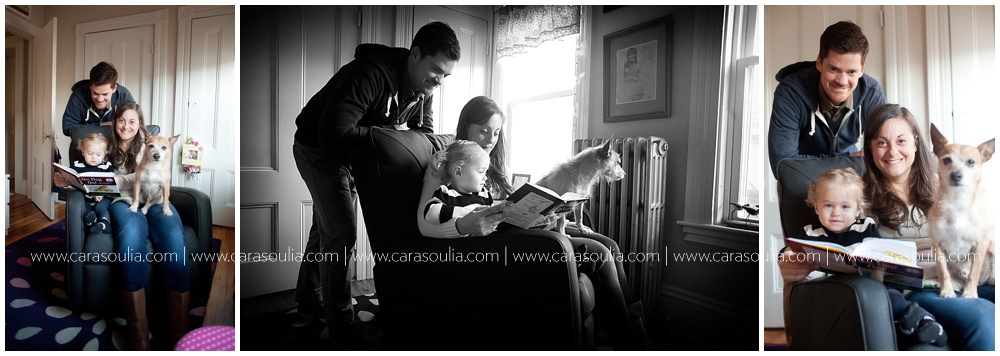 lifestyle family photographer boston at home