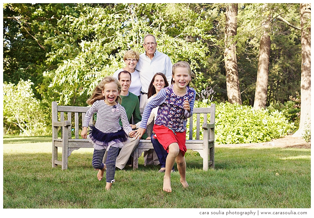 Life is good | Extended family photo session at Elm Bank in Wellesley, MA