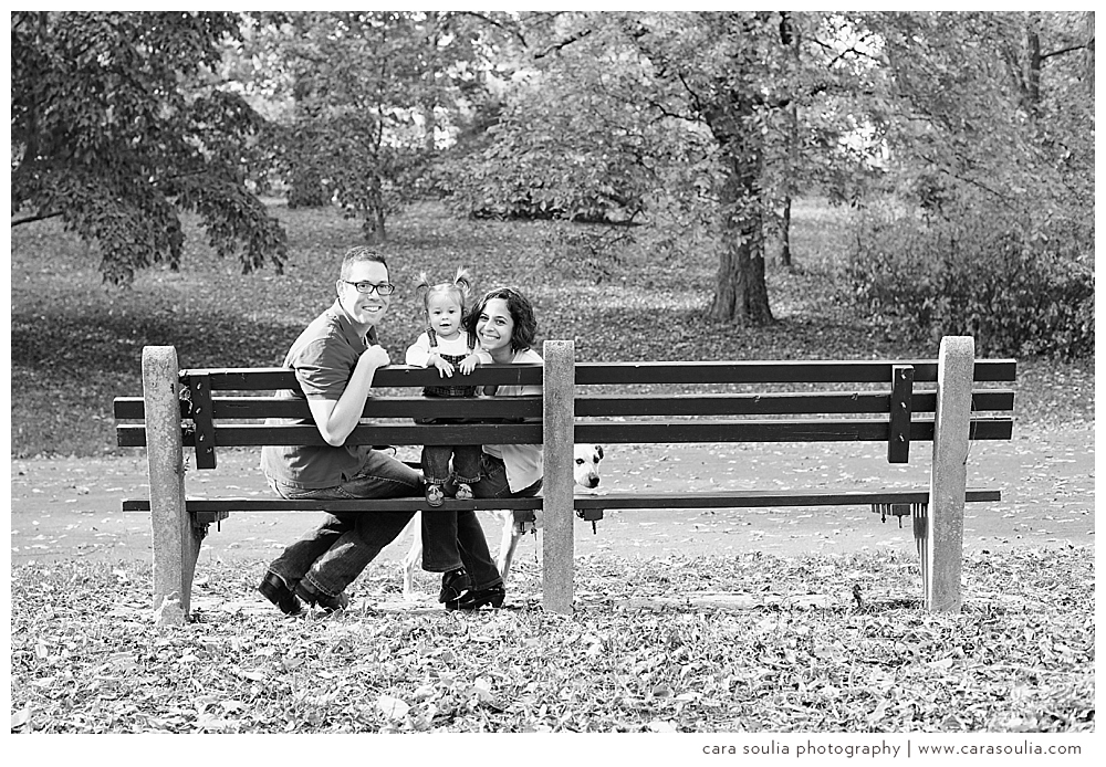 Family of 3 | arnold arboretum mini session