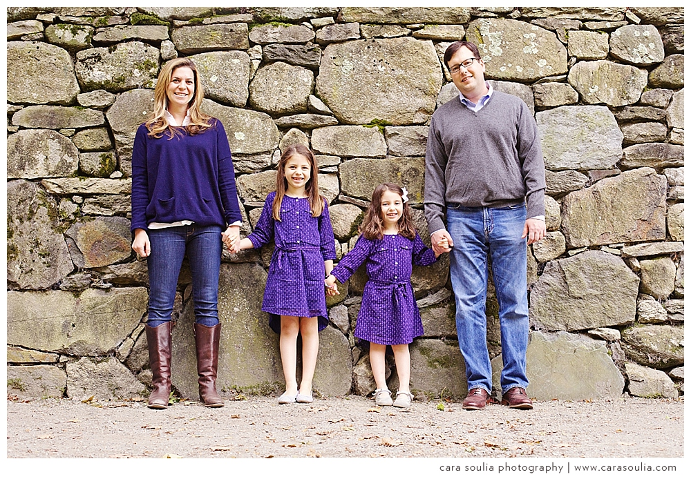 fall family portraits | brookline family photographer