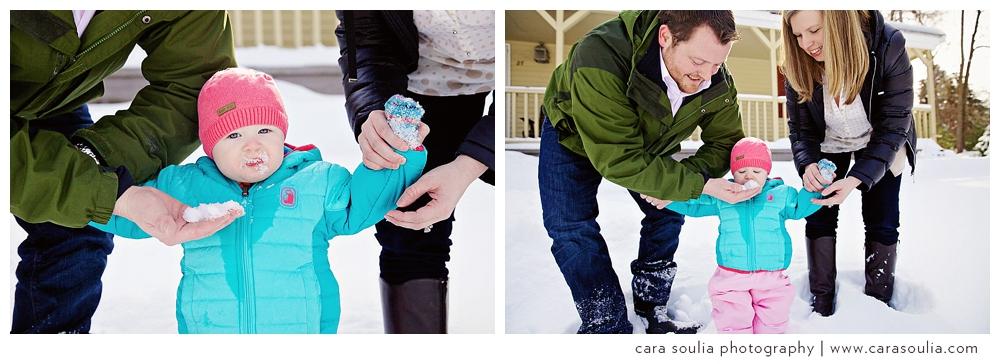 winter childrens portraits boston