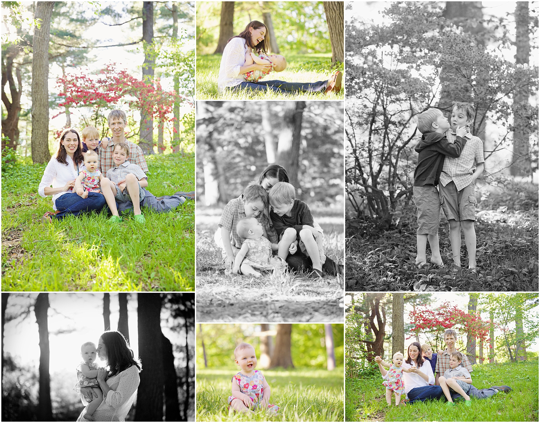 Beautiful Five | Roslindale Family Photographer