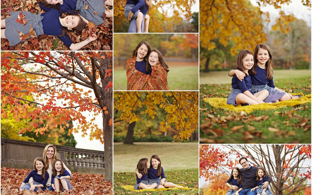 brown eyed girls | Fall Family Photos Boston, MA