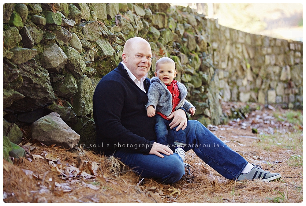 adorable father son portrait boston