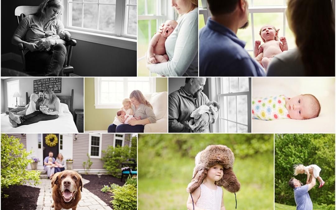 Lila & Isabelle   Boston Newborn Photographer