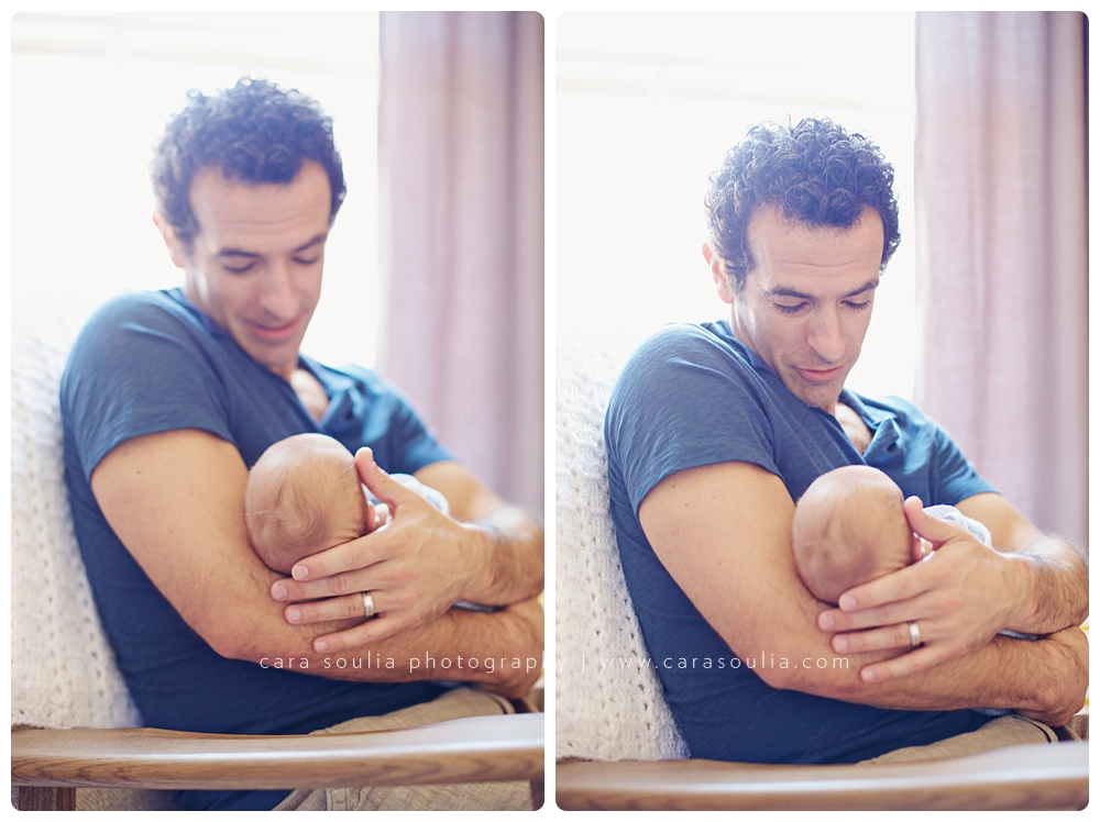 beautiful father son newborn photos boston ma