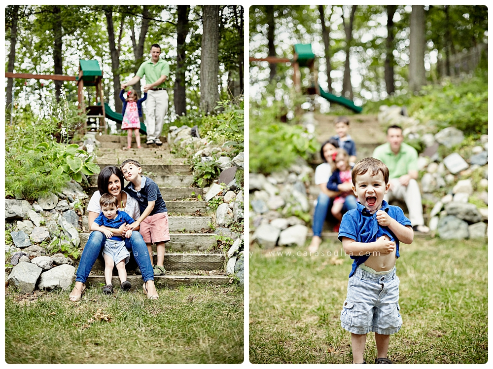 fun family photographer cara soulia