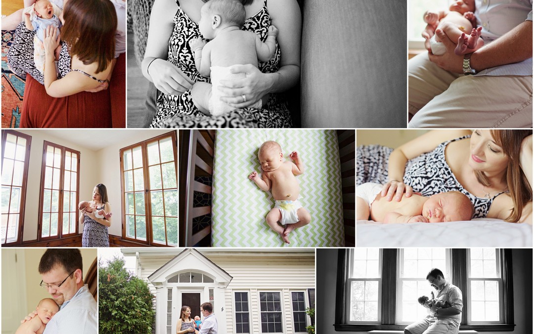 a musical beginning | boston area newborn photographer