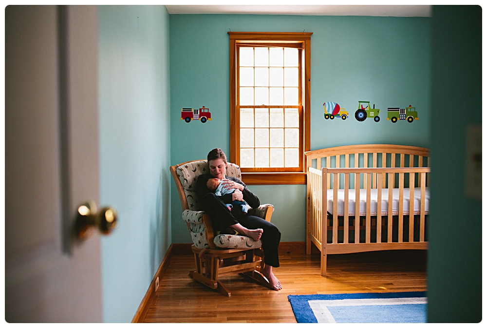 at home newborn photos boston massachusetts