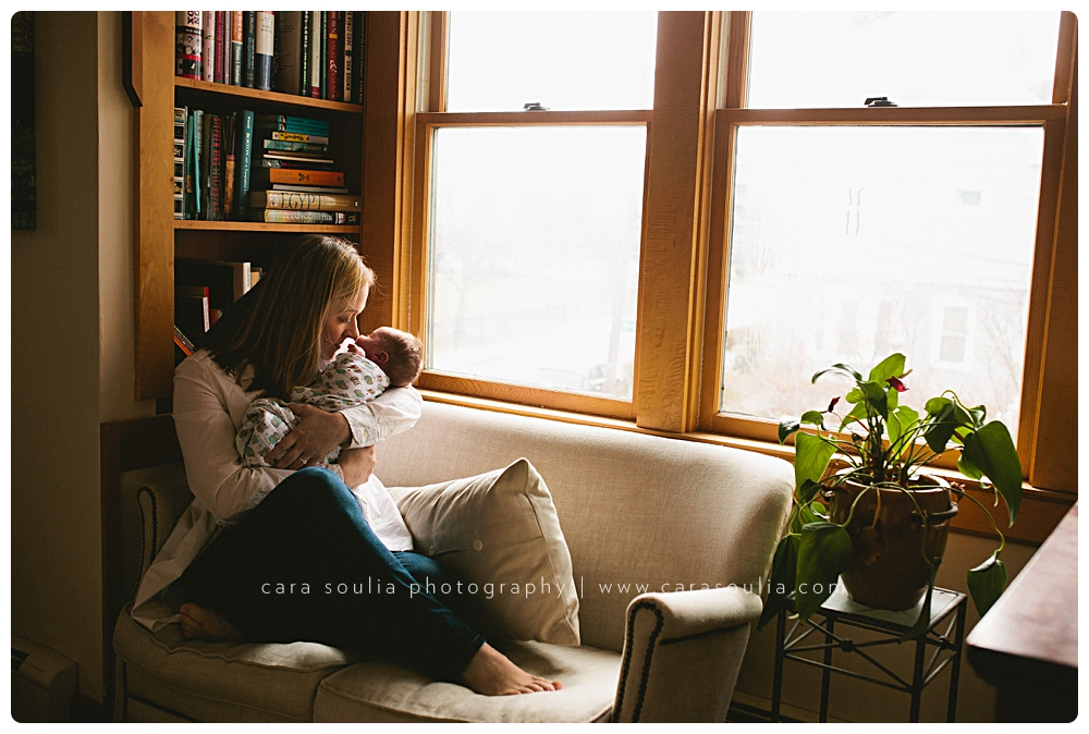 beautiful mother and newborn portraits boston