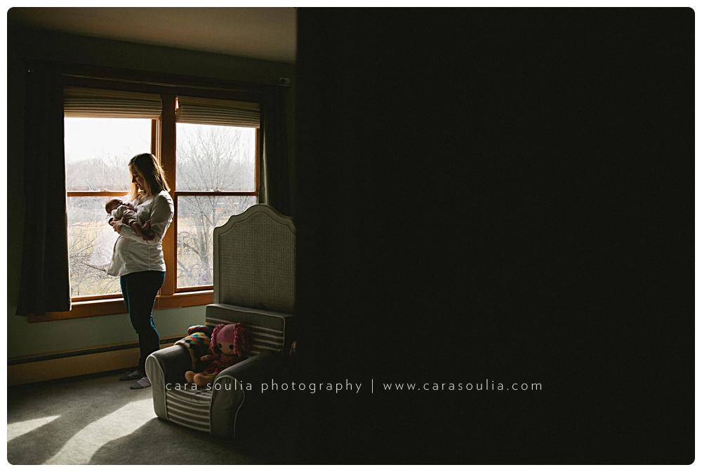 beautiful newborn photo session massachusetts