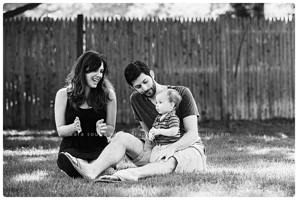 black and white family photos boston ma