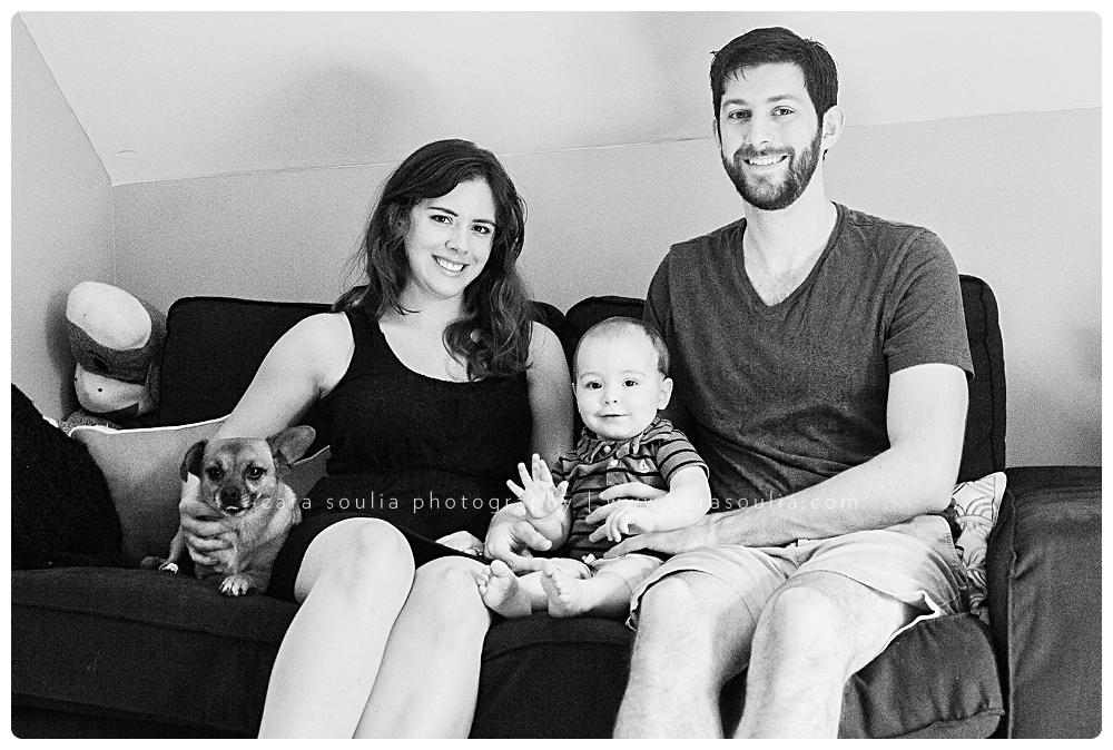 black and white family photos cara soulia boston mass