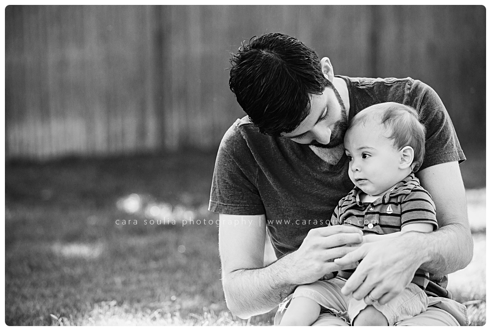 father and son black and white portraits cara soulia