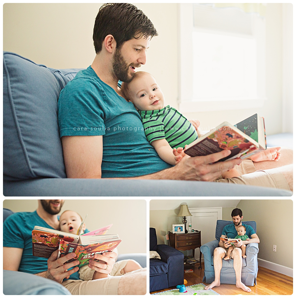 father and son family photographer boston mass