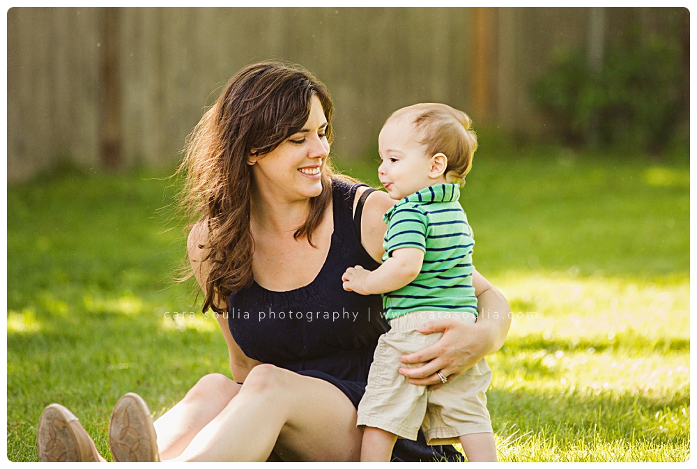 mother and son one year old portrait boston ma photographer