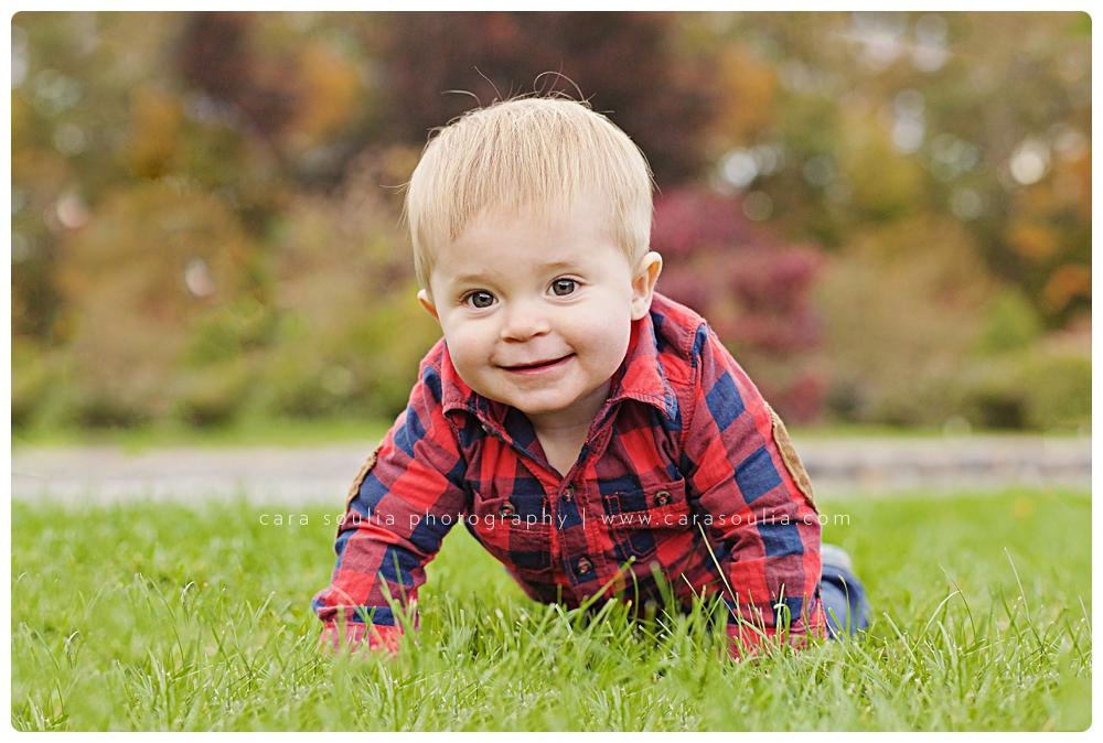 adorable childrens portraits fall season cara soulia boston