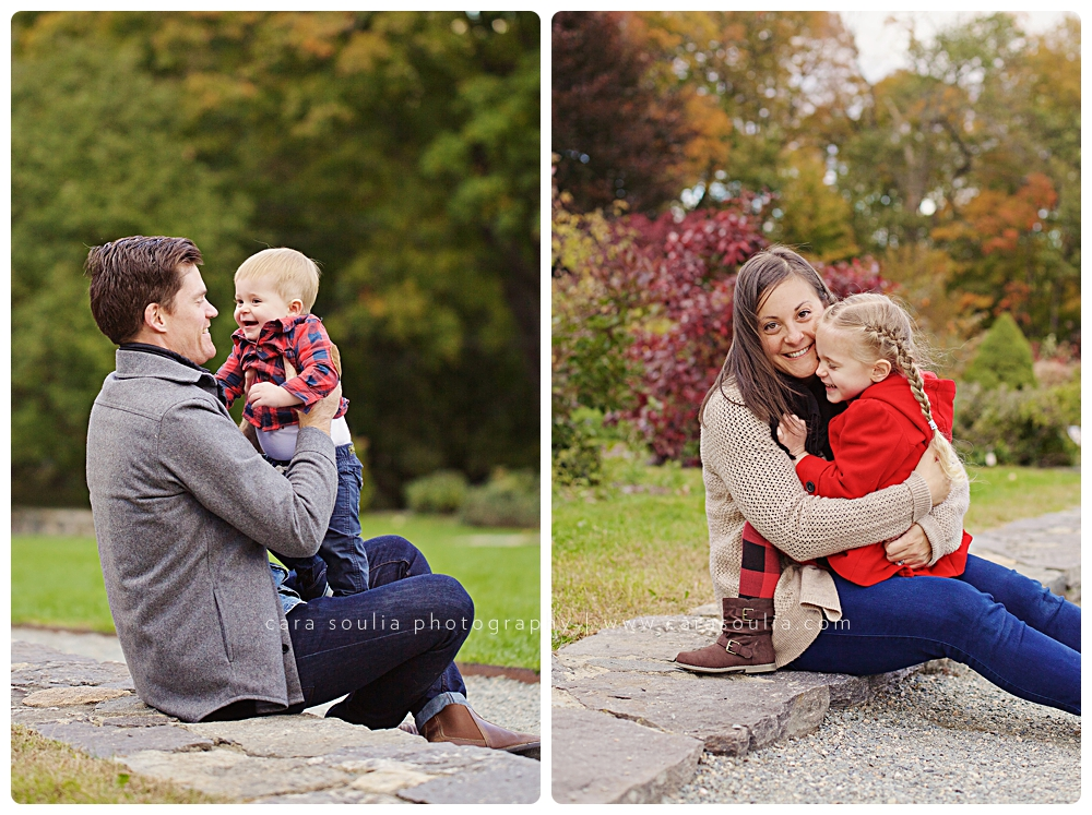 beautiful family portraits fall photos cara soulia massachusetts
