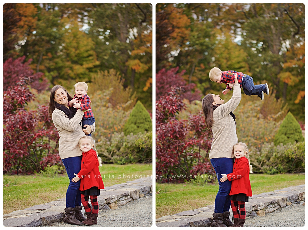 best family photographer for fall photos cara soulia massachusetts