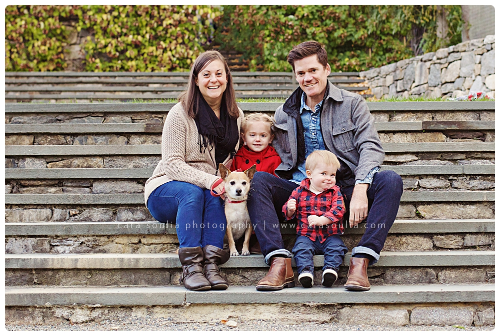cutest fall family photos boston ma
