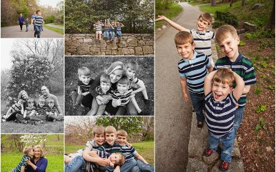 Hanging with the Boys | dover massachusetts family photographer