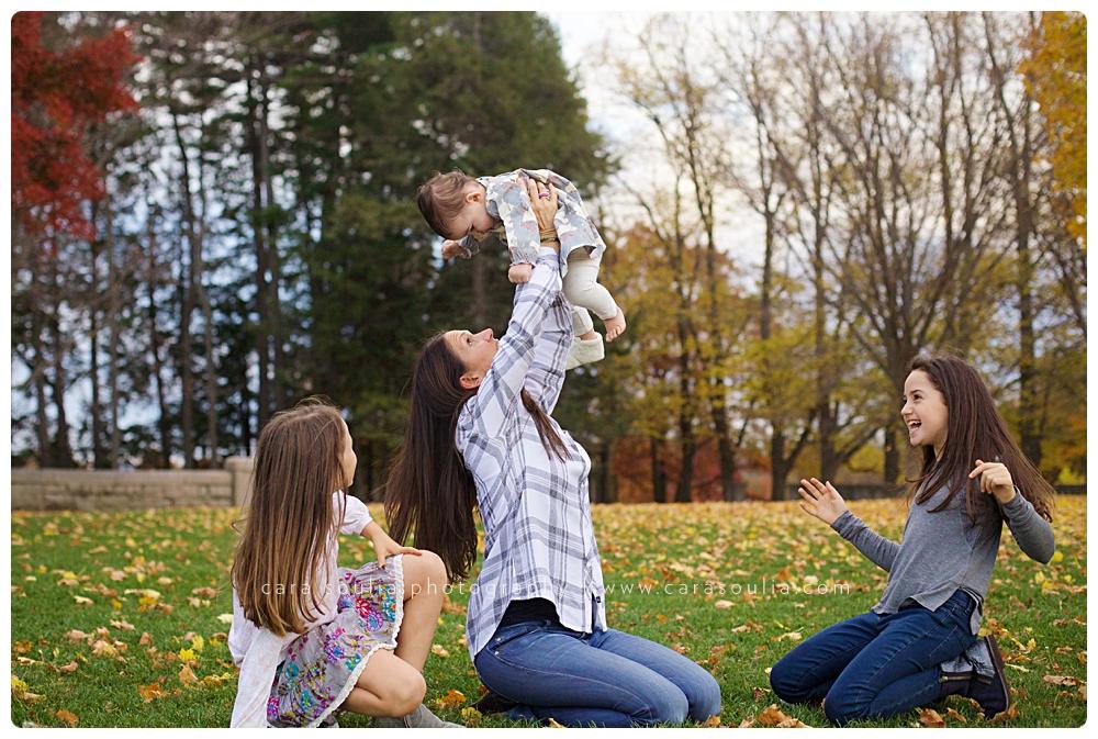 mother with children portraits brookline mass
