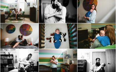 Baby Gilbert, 6 weeks old |newborn photographer boston massachusetts