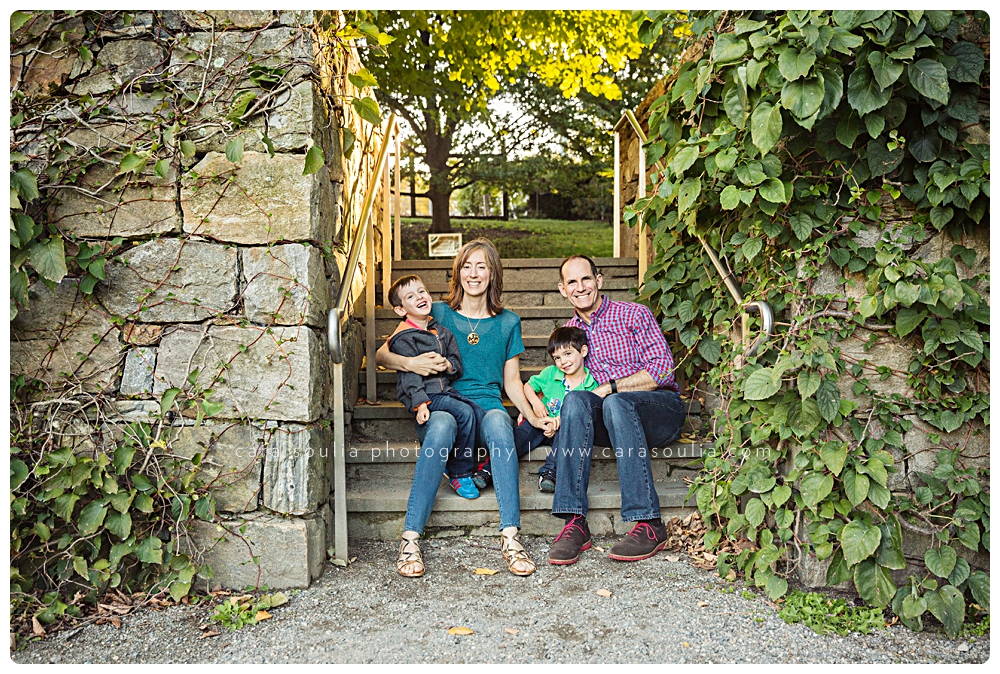 arnold arboretum JP mass family photo session