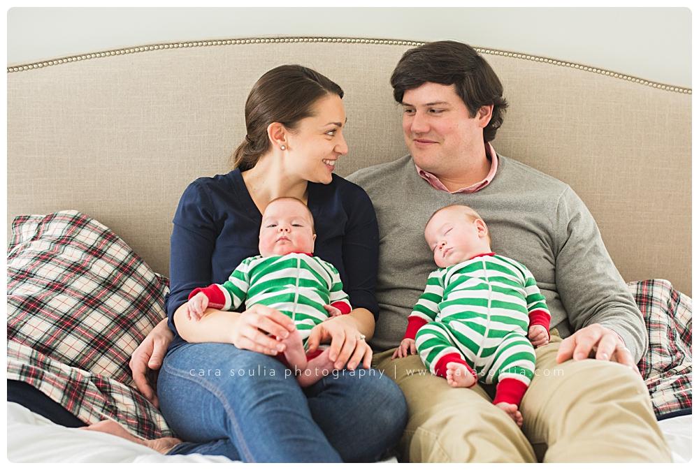 best boston massachusetts photographer for newborn twins session