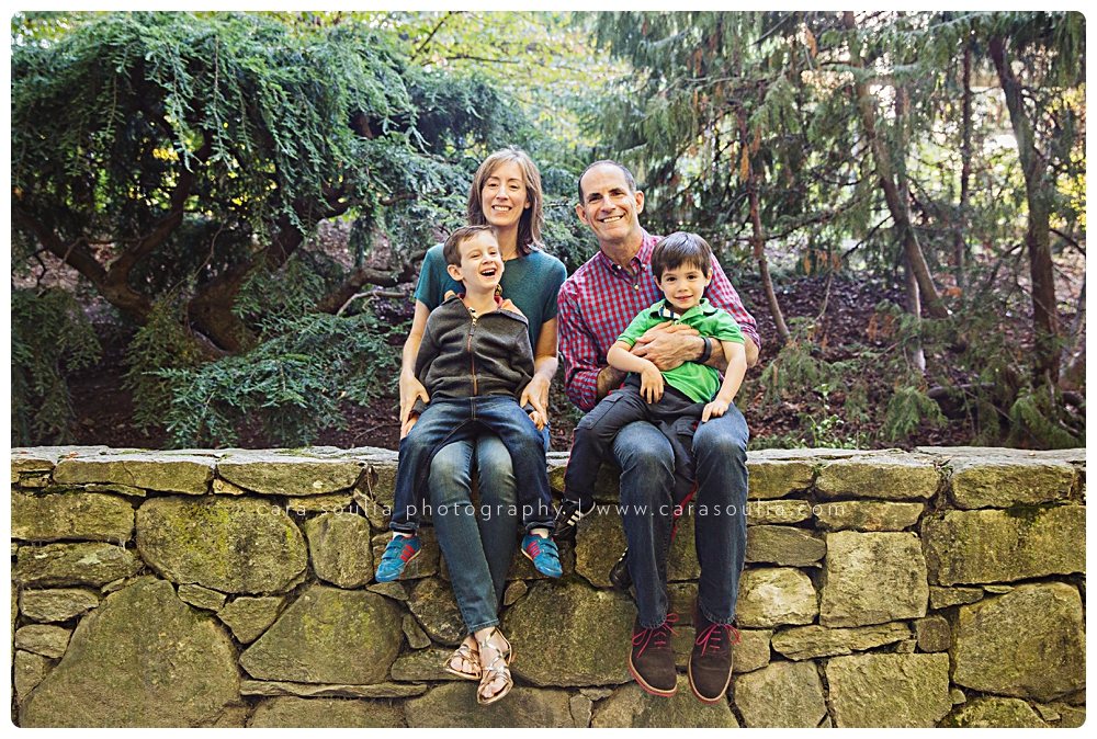 family photo session arnold arboretum