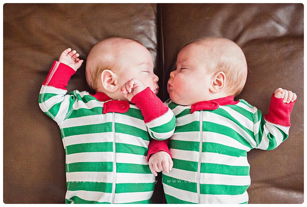 newborn twins boston mass photo session