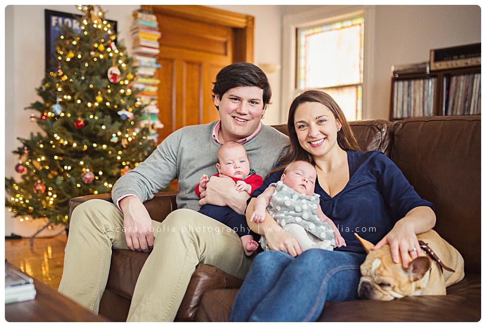 newborn twins photo session boston photographer