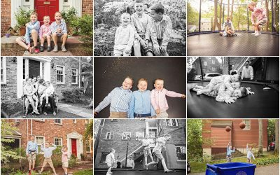 At home with the boys | Family Photographer Brookline MA