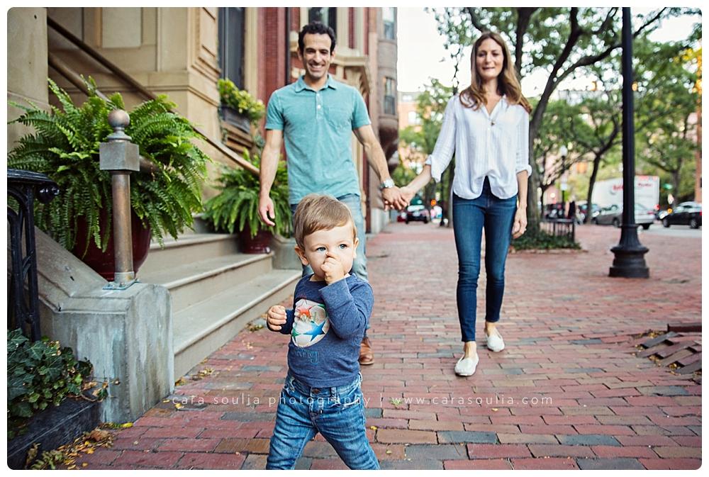 back bay boston family photo session massachusetts