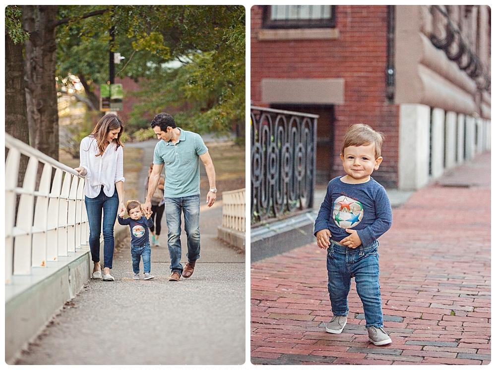 back bay boston family session
