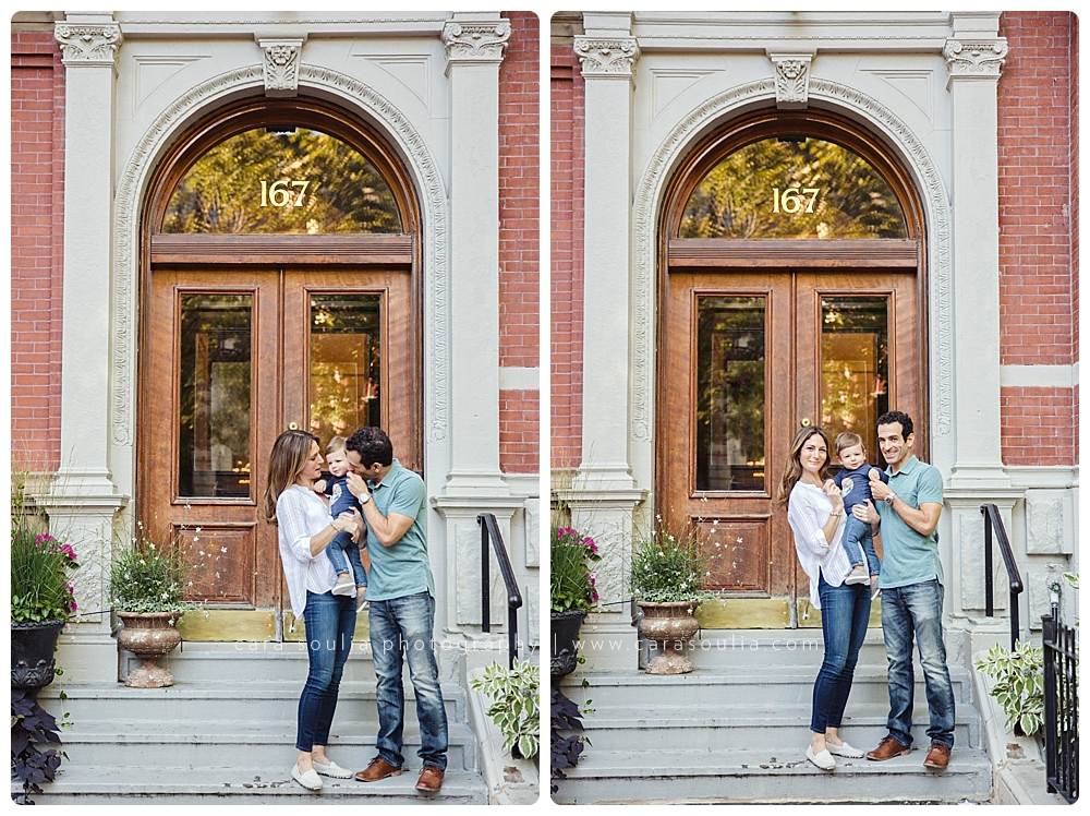 back bay family photo session