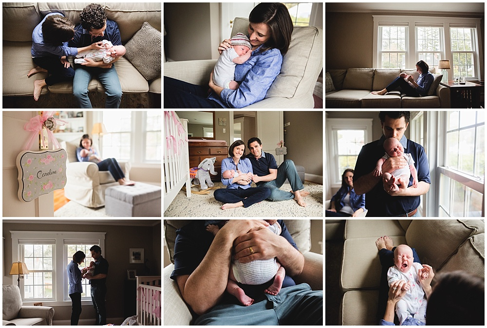 Sweet Caroline | Newborn Photographer Needham Massachusetts