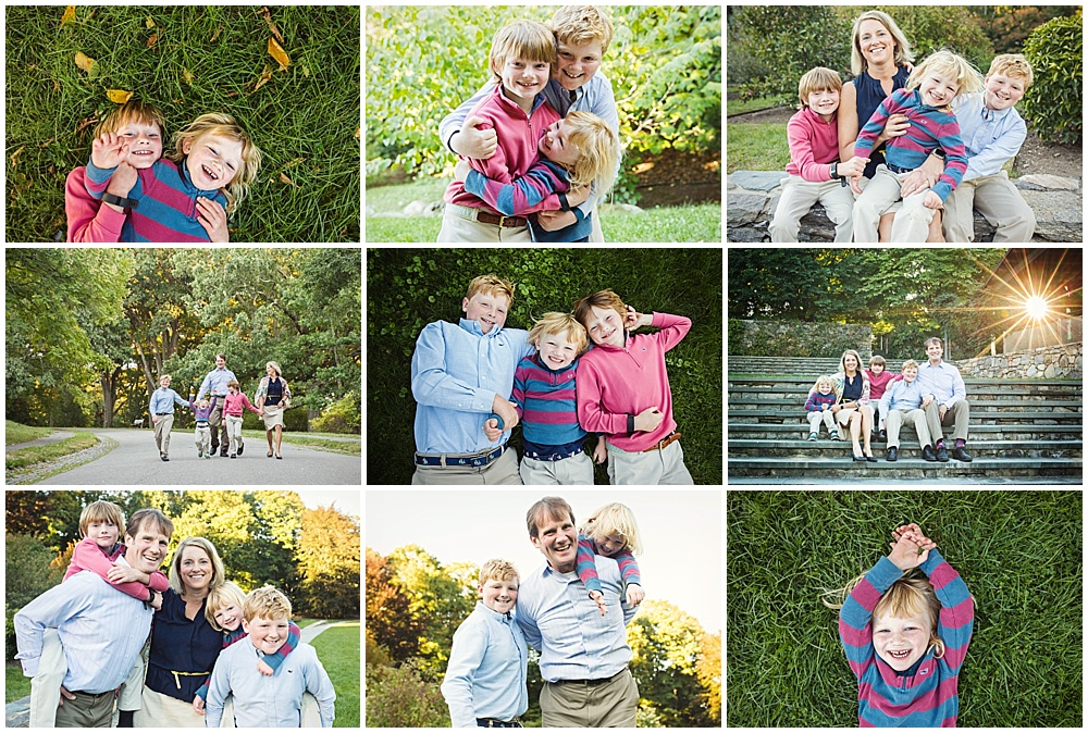 Mom and all the boys | Family Photographer Boston Massachusetts