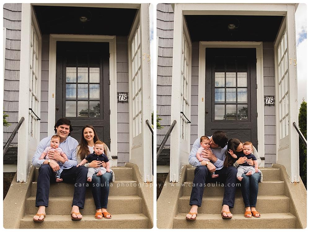 family photographer in boston twin babies