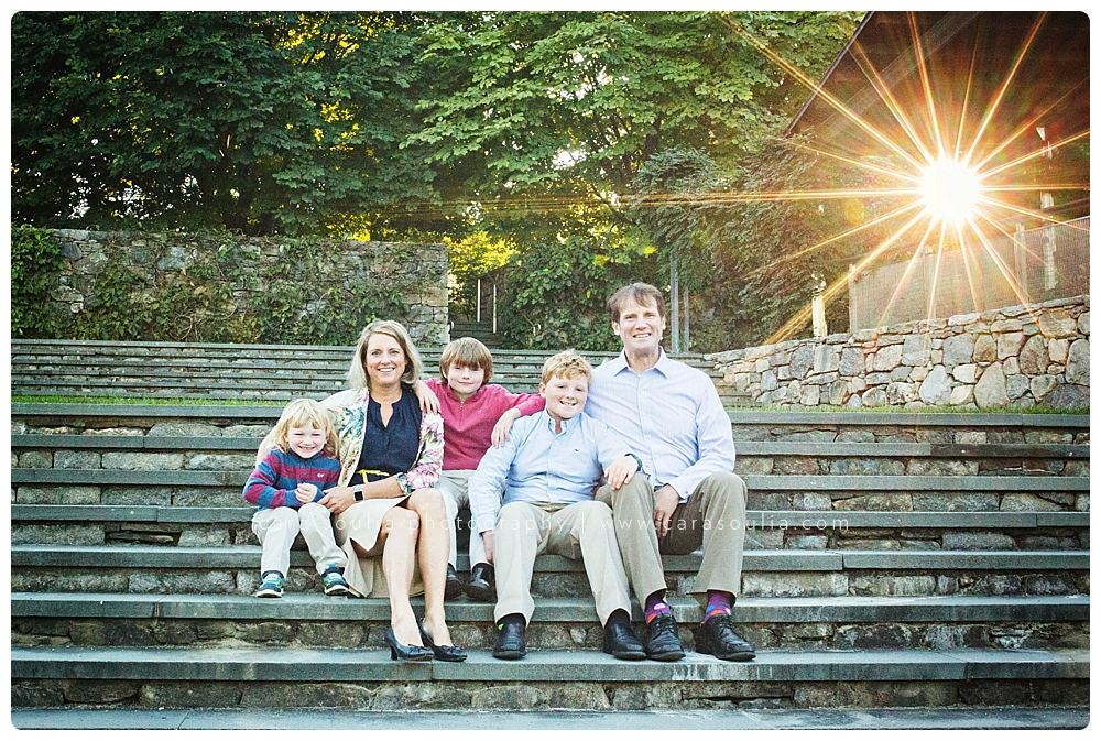 family portrait photographer arnold arboretum