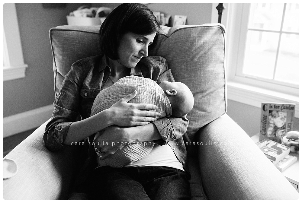lifestyle newborn session needham massachusetts