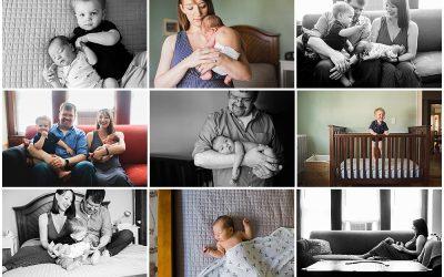 And the music played on… | Massachusetts Newborn Photographer