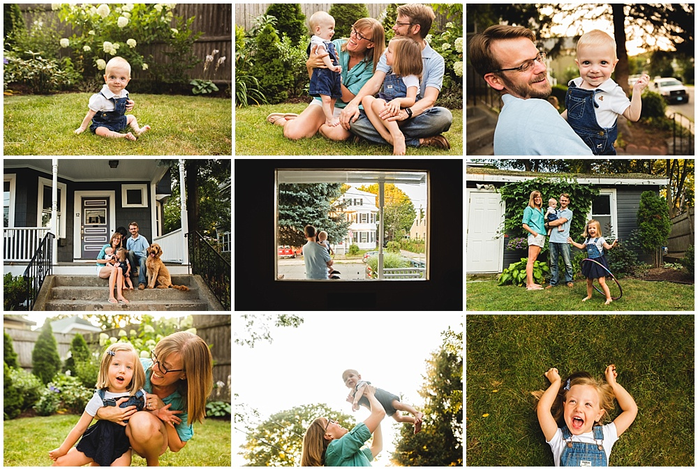 No-stress photo session | Family photographer Boston