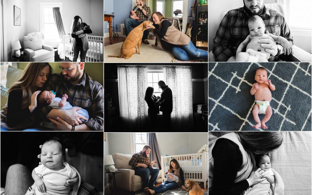 Making Connections   Jamaica Plain Newborn Baby Photographer