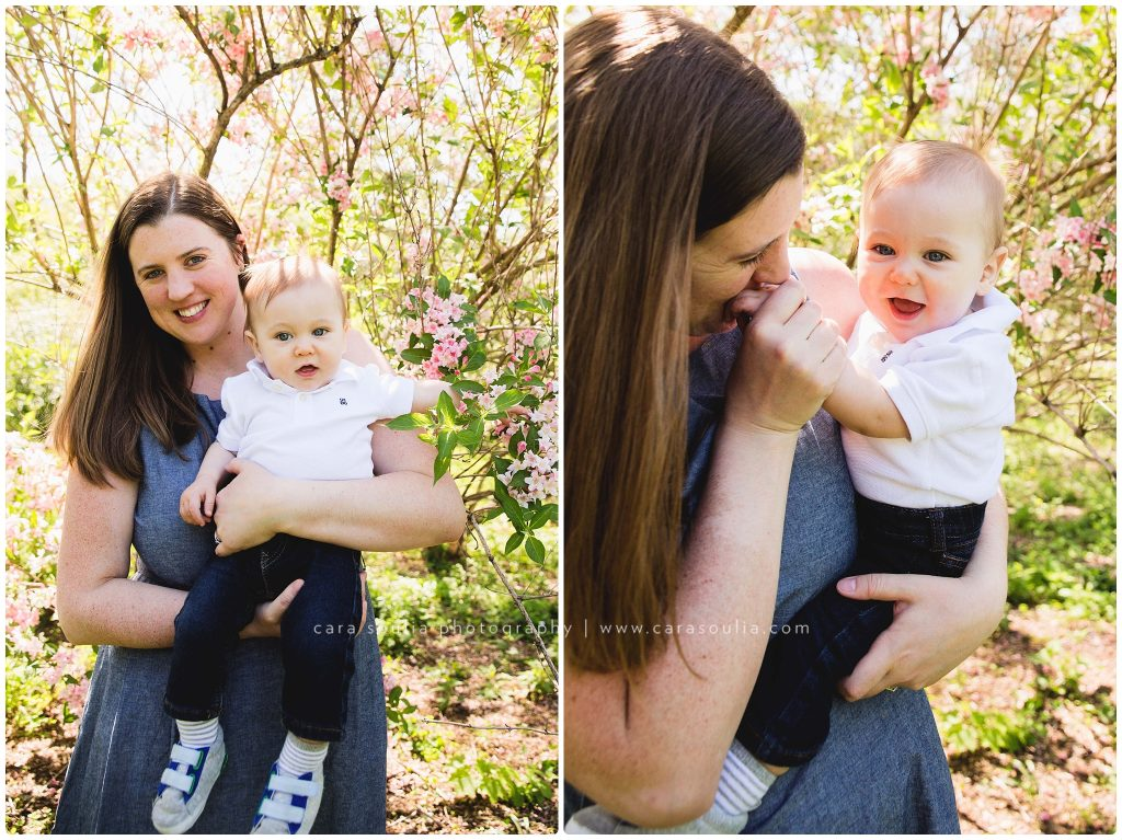 mother son portraits arnold arboretum