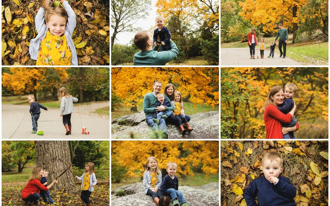 Family Portraits at the Arnold Arboretum
