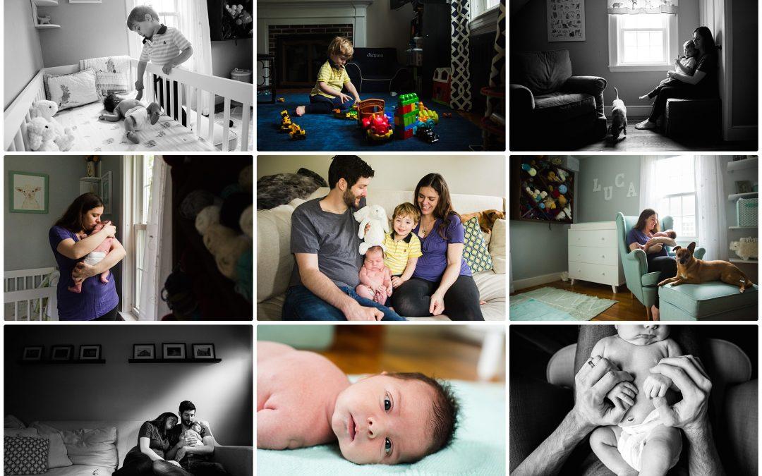 Welcome Baby Luca!   Boston Newborn Photography