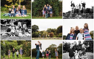 Family of SIX! | Needham Family Photo Session